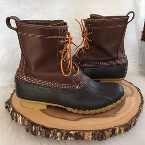 L. L. Bean leather duck boots